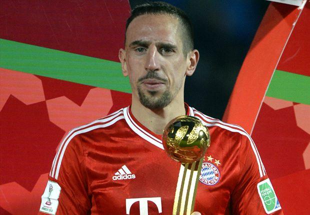 Ribery espera ganar el Balón de Oro