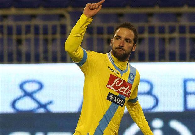 Napoli 1-0 Lazio: Higuain snatches semifinal spot