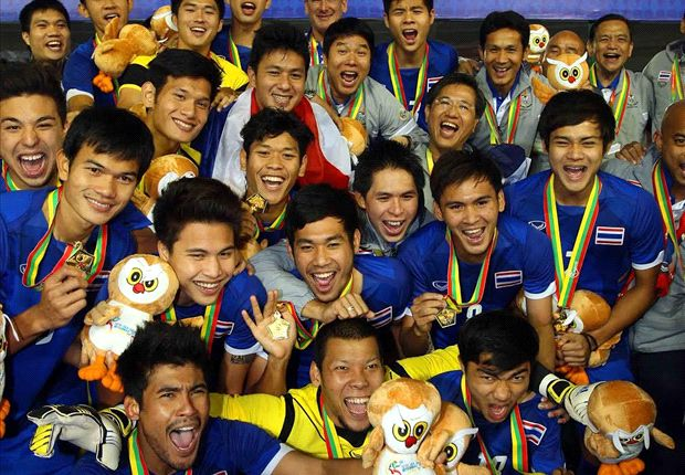 Thailand won a record 14th gold medal.