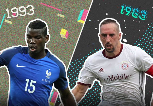 Yearbook Battle: Pogba's Class of 1993 v Ribery's Class of 1983