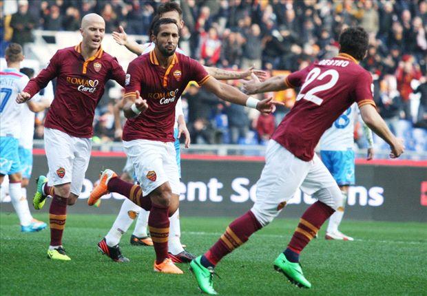 Mehdi Benatia schnürte für die Roma ein Doppelpack