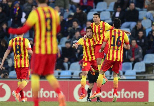 Martino hails prolific Pedro after hat trick heroics against Getafe