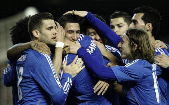 Angel Di Maria Valencia Real Madrid La Liga 12222013