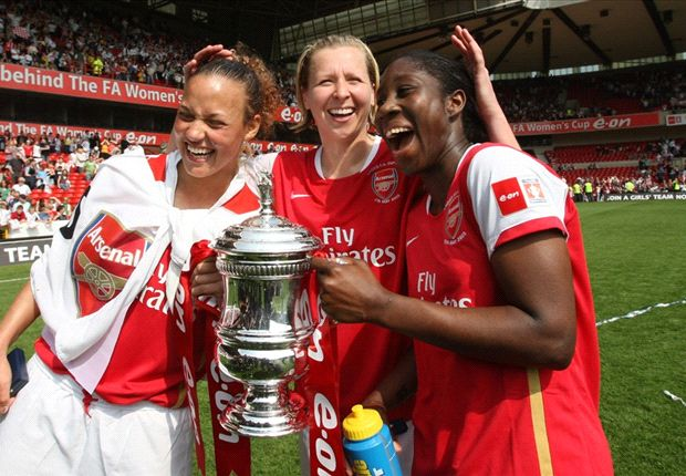 Asisat Oshoala wins English women FA Cup title with Arsenal Ladies - Goal.com