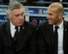 Ancelotti hails Zidane's charisma