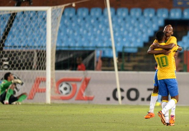 The Billiat-Modise combination decided the game for Sundowns unexpectedly