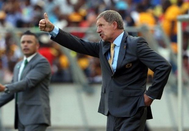 Stuart Baxter is in high spirits with Chiefs in pole position to retain their PSL title
