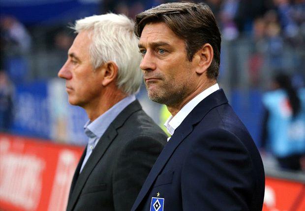 Brauchen Geld, um die Mannschaft zu verstärken: Bert van Marwijk und Oliver Kreuzer
