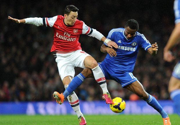 El fútbol de Arsenal contra la fuerza de Chelsea.