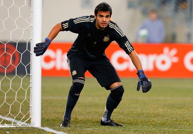 Romero fue el arquero titular de la Selección Argentina pero no juega en Mónaco.