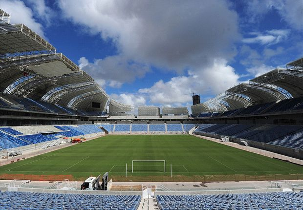 World Cup's Arena das Dunas to host first competitive clash