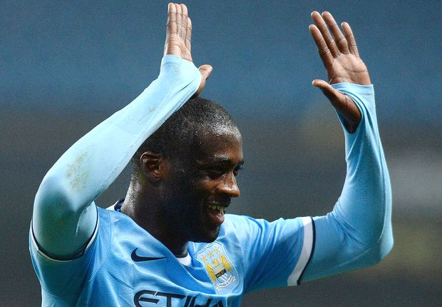 Yaya Toure is CAF African Player of the Year 2013