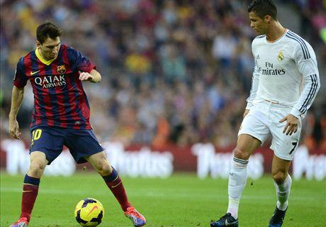 Messi y Cristiano se verán en el clásico