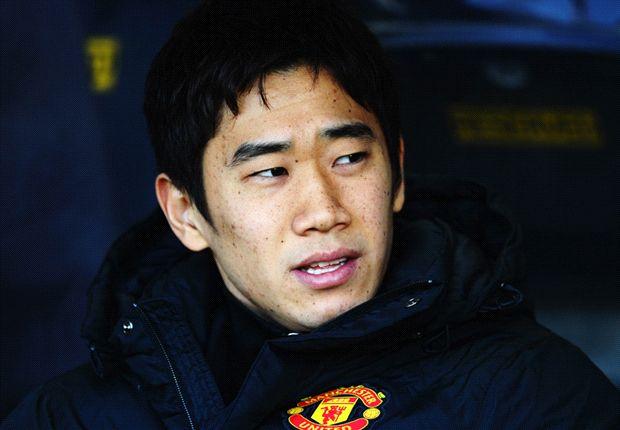 Shinji Kagawa auf Uniteds Reservebank