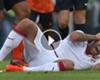 VIDEO: Ménez perdió parte de la oreja en un partido ►