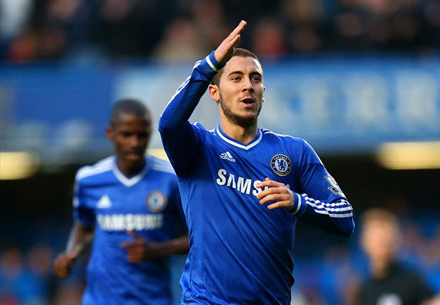 Chelsea 1-0 Swansea City: Hazard strike enough for Mourinho's Blues