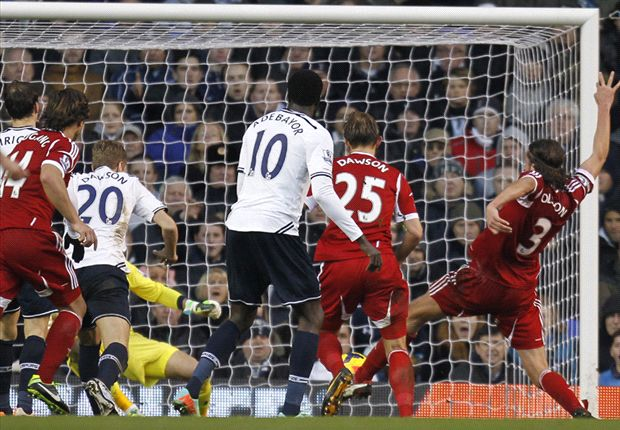 Tottenham 1-1 West Brom: Eriksen strike not enough for Sherwood's side