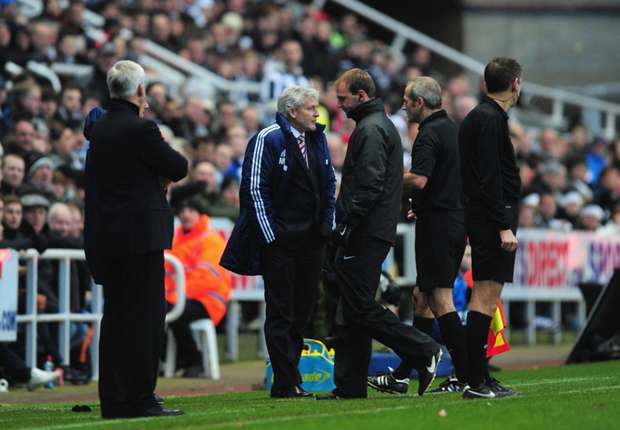 Stoke manager Hughes charged with improper conduct