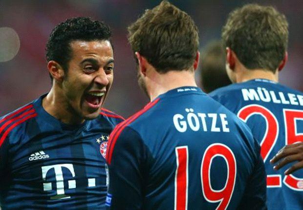 Beim FC Bayern München noch zwischen Leichtsinn und Können: Thiago Alcantara