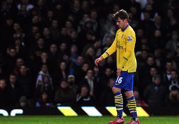 Arsenal rocked as Ramsey ruled out for further four to six weeks