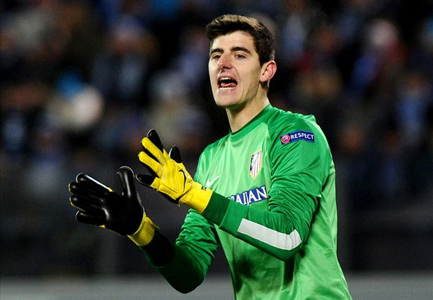 Simeone urges Atletico Madrid to buy Courtois from Chelsea at 'any price'