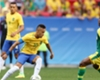 Neymar in action for Brazil against South Africa