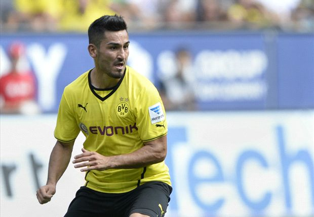 Dortmund press Gundogan for contract decision