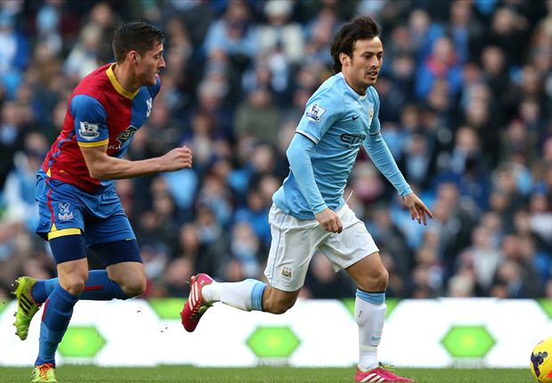 Manchester City 1-0 Crystal Palace: Dzeko winner saves below-par hosts