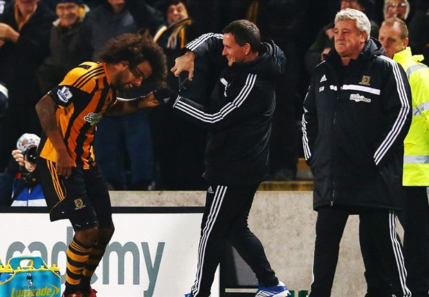 Hull City 6-0 Fulham: Hosts hit Meulensteen's men for six
