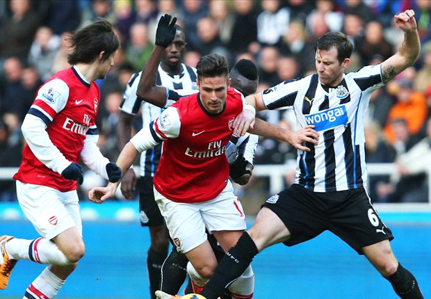 Arsenal Bungkam Newcastle United