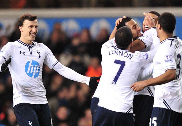 Tottenham 3-0 Stoke City: Soldado sparks routine Spurs win