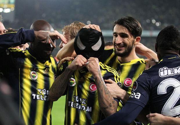 Fenerbahce ist in der Türkei einsame Spitze