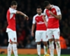 Arsenal trio to miss Liverpool clash