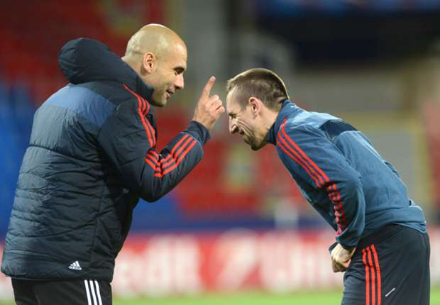 Guardiola: I have never seen a player like Ribery