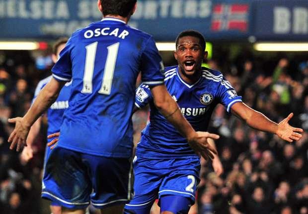 Chelsea war zuletzt auch dank Samuel Eto'o in starker Form