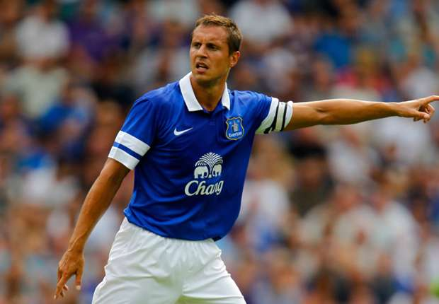 Jagielka out for 'up to four weeks'