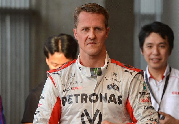 'Keep fighting, Michael' - Football sends its support to stricken Schumacher