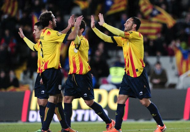 Alba savours 'special' moment for Catalonia