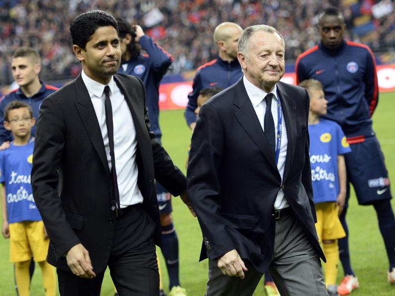 Le PSG, cible favorite de Jean-Michel Aulas