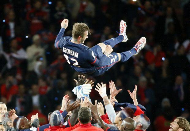David Beckham terminó su carrera en el PSG