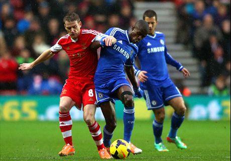 LIVE: Southampton 0-0 Chelsea