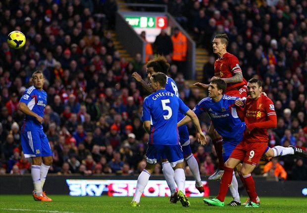 Liverpool 2-0 Hull City: Luis Suárez y los Reds vuelven a sonreír