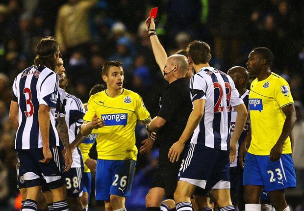 West Brom 1-0 Newcastle: Berahino penalty downs 10-man Toon