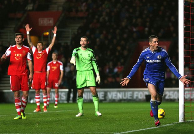 Southampton 0-3 Chelsea: Torres, Willian & Oscar keep up pressure on leaders