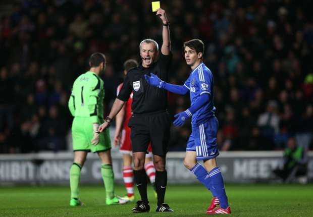 Mourinho disappointed with Oscar dive