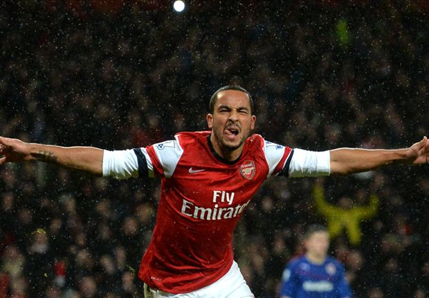 Walcott relishing FA Cup derby showdown with Tottenham