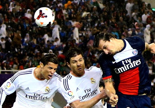 Ibrahimovic: PSG not yet on Real Madrid's level