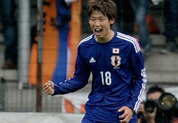 The Japan international scored one and assisted another in a 2-2 draw with Netherlands.