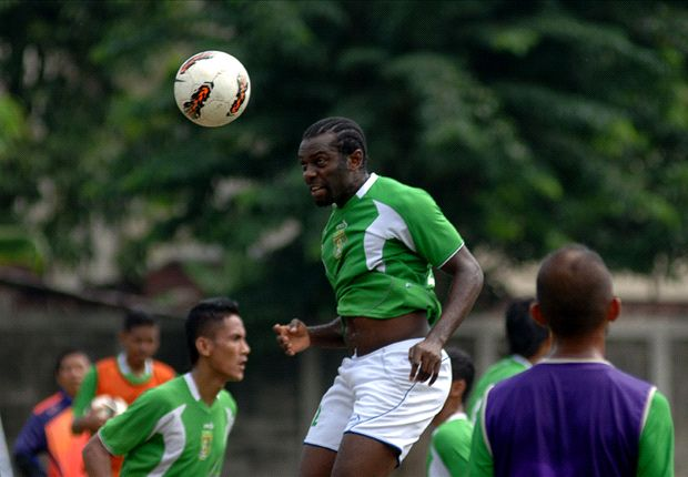 The naturalised Singapore striker on trial at Persebaya Surabaya.