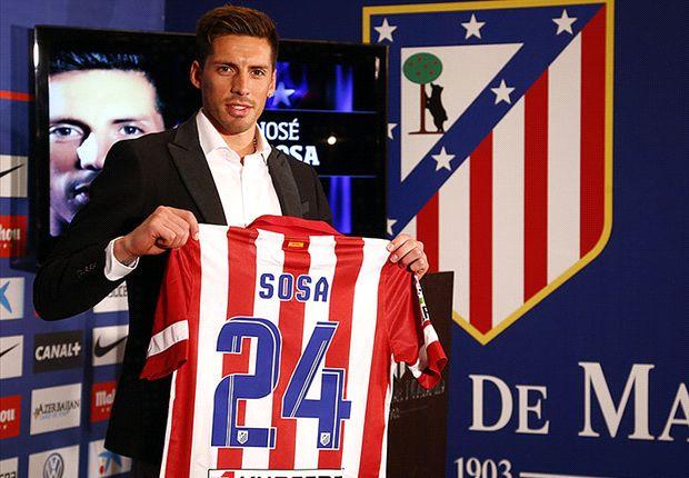 José Sosa, único fichaje de Atlético de Madrid en lo que va de mercado de pases